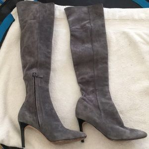 Cole Haan-over the knee Suede boots